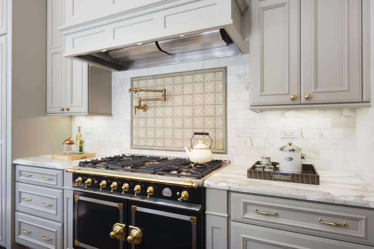 Custom Dura Supreme cabinets come in slab, flat panel and raised panel types of cabinet doors