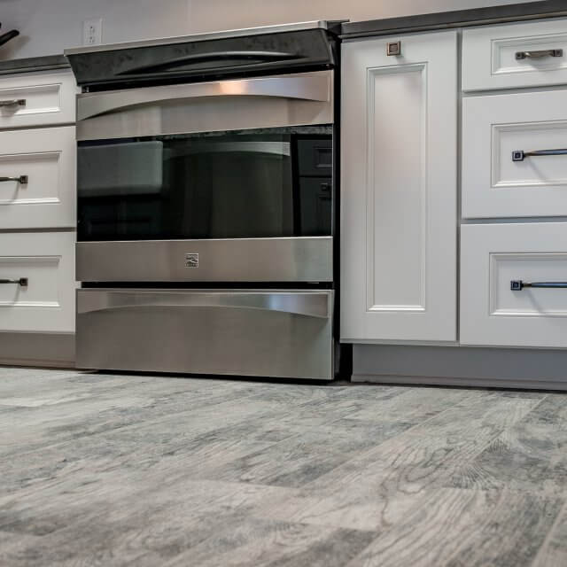 Remodeled kitchen cabinets from Kabinart with Cambria countertops