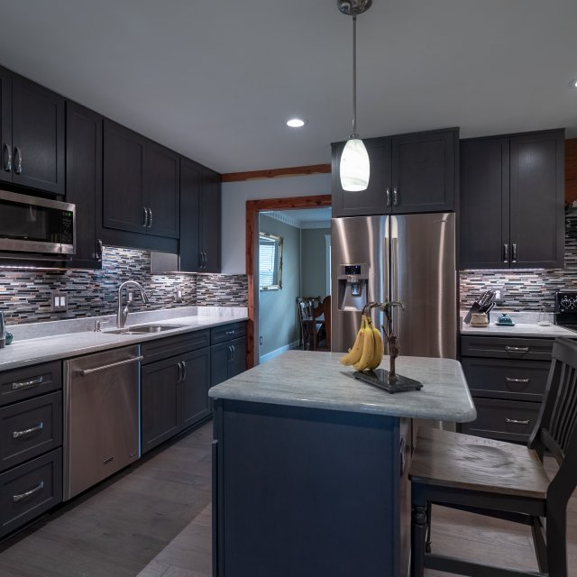 Kitchen and Dining Room Remodel - quartz countertops and stainless appliances