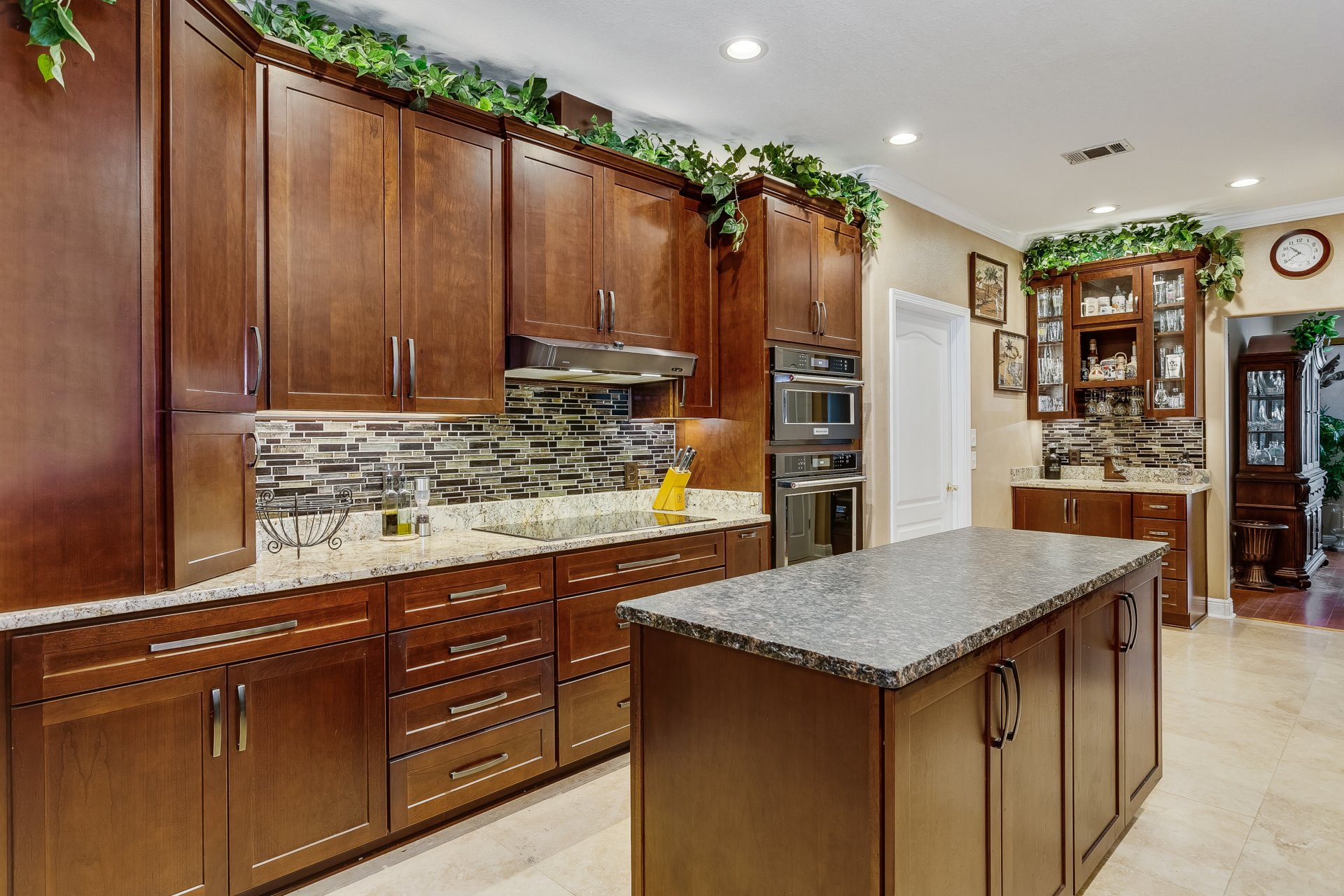 Ely and Allen - custom kitchen cabinets